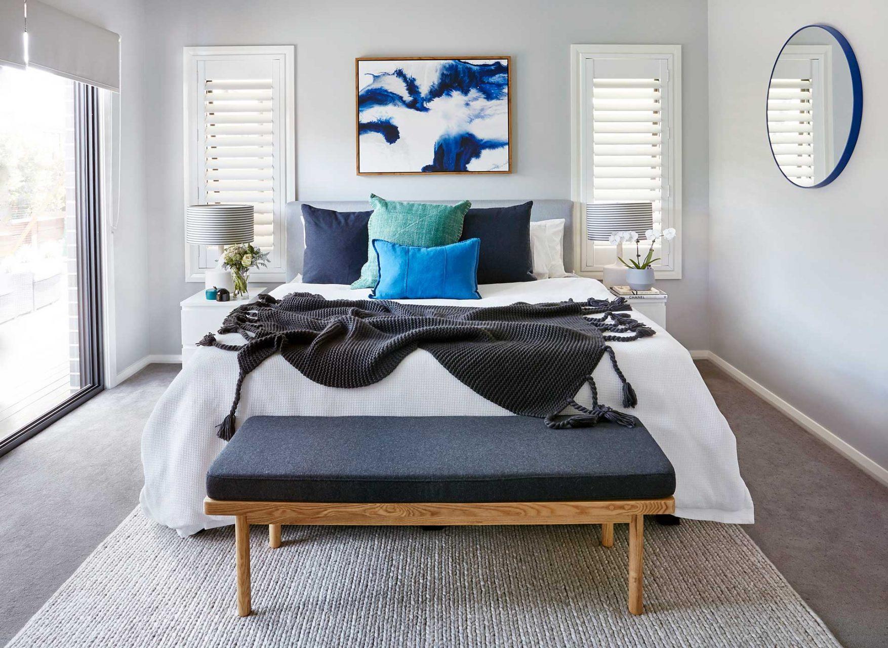 bedroom interior photography