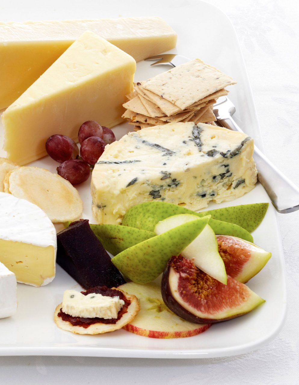 cheese plate food photography