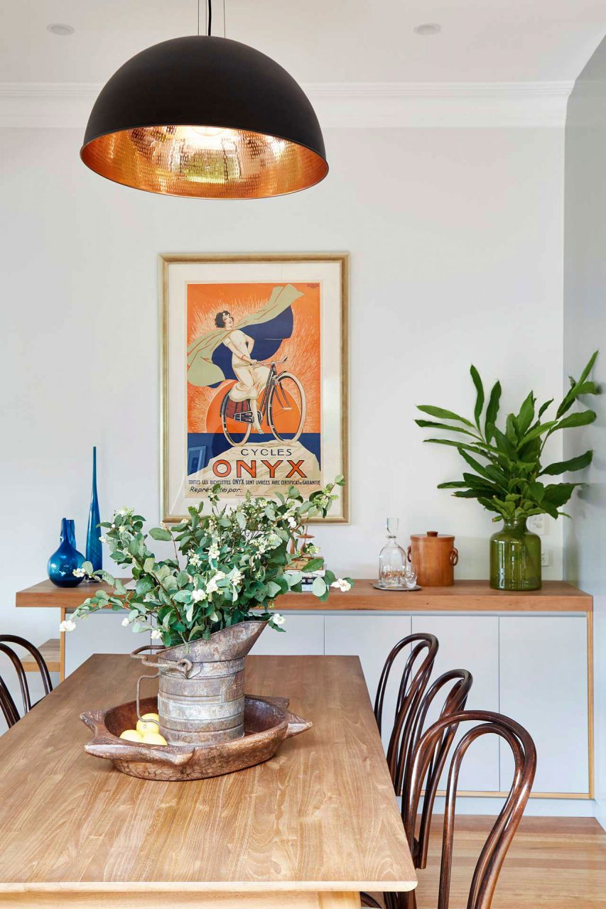 dining room interior photography