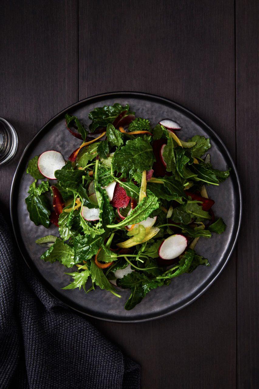 salad food photography