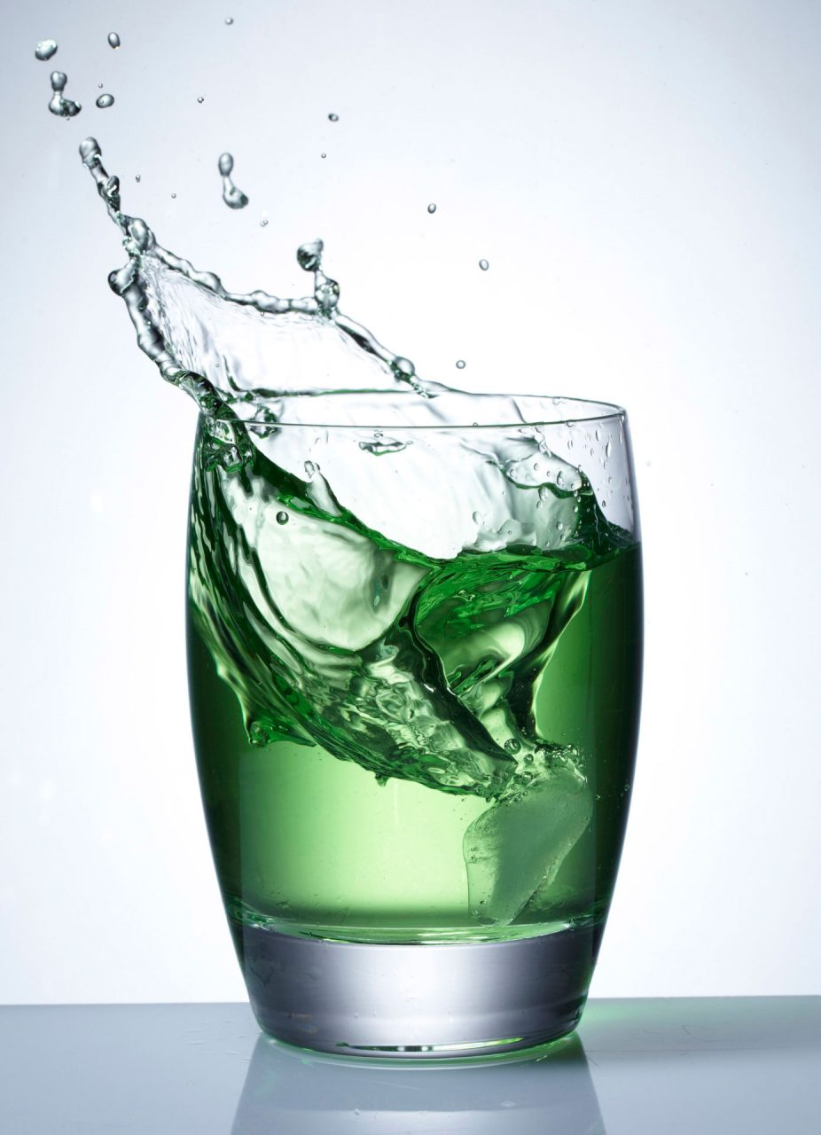 splash drinks photography