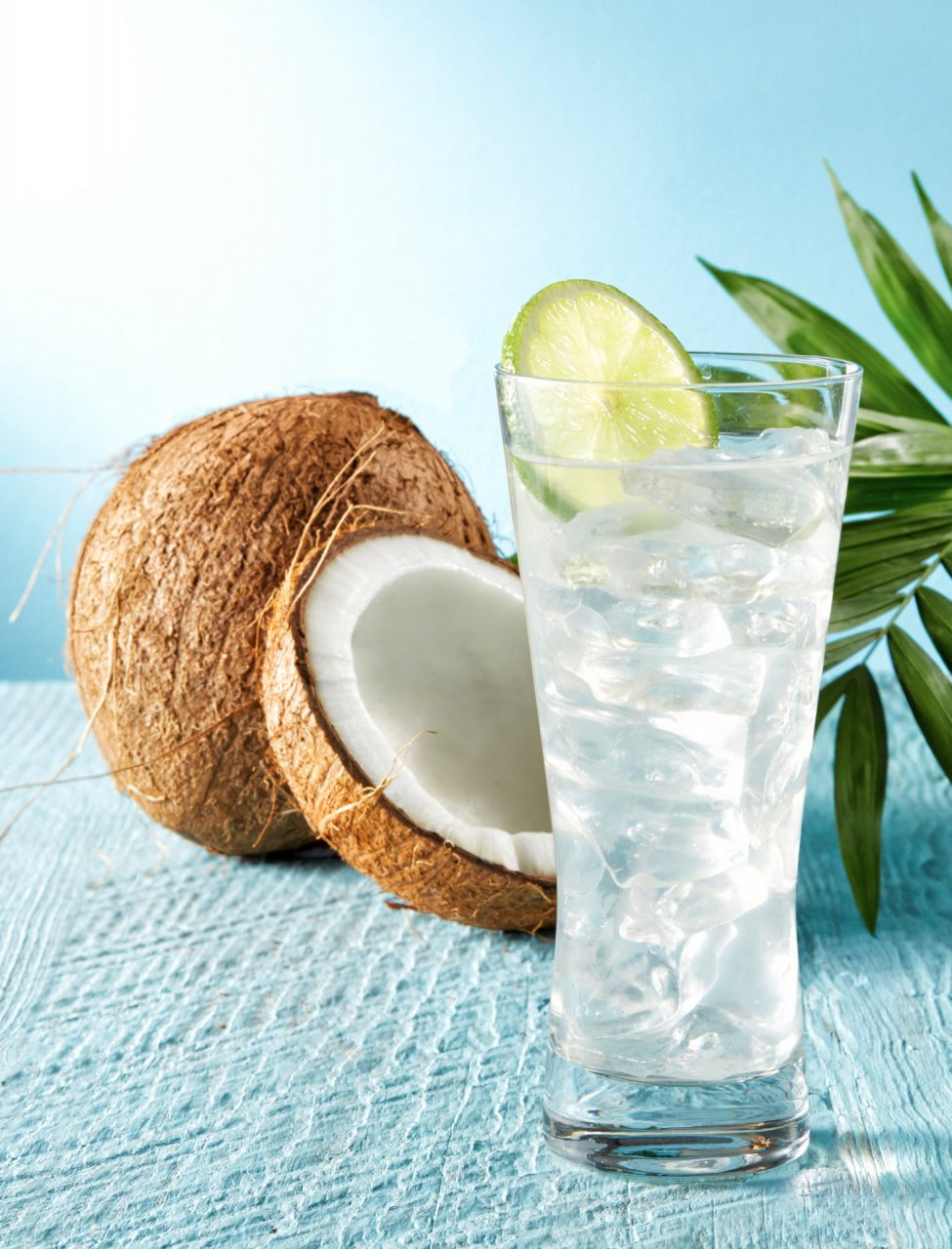 coconut water drinks photography