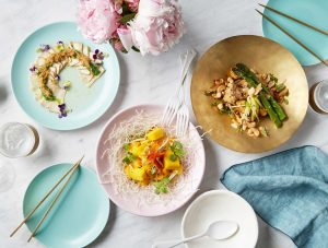 vegan dining food photography